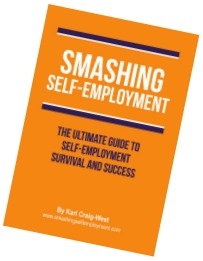 smashing self employment by Buzz Website Design in Leicester