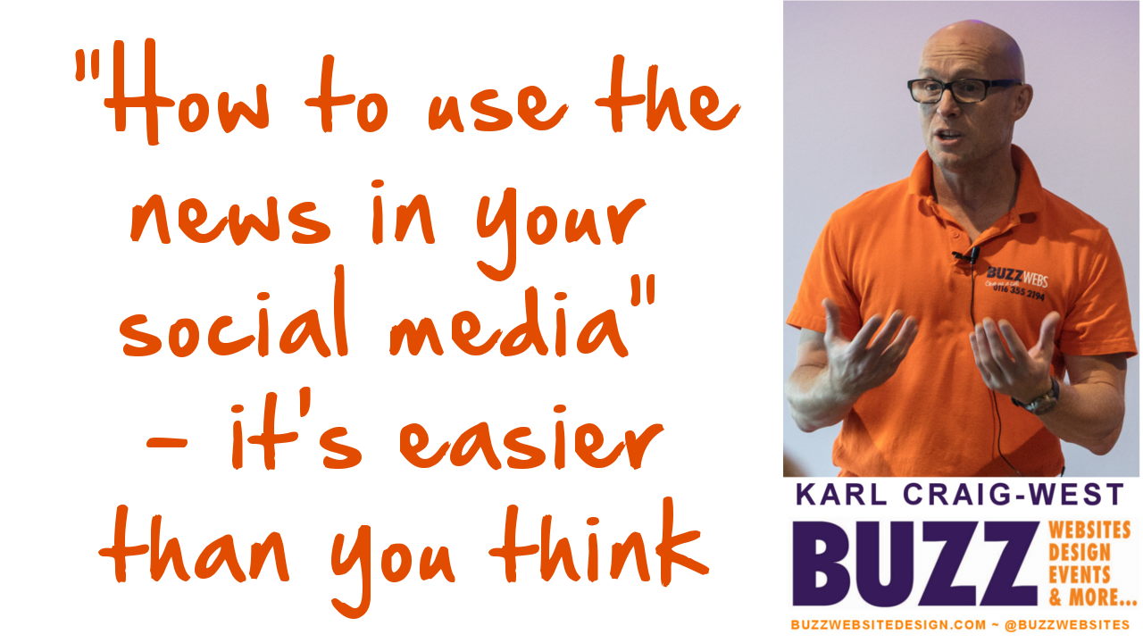 How to use the news in your social media